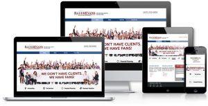 Bauer Evans Responsive Website
