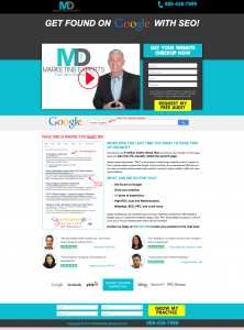 MD Medical Experts Landing Page