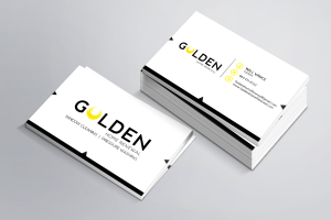 Golden Home Renewal Business Card