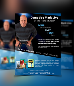 Comedian Mark Lundholm Flyer